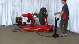 Truck Tire Changer CD830A Demonstration.