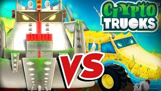Yippii Vs Ness Seal | CryptoTruck  | Tug of war | Carnage Crew VS Crypto Force | Truck Videos