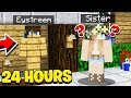 I TROLLED MY LITTLE SISTER FOR 24 HOURS And She Had NO IDEA!