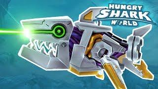 Baby Shark Robot! - Hungry Shark World | Ep 67 HD