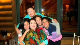 Kc Concepcion's family and friends.