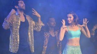 Alia Bhatt And Aditya Roy Kapoor Hot Dance At Dream Team 2016