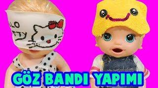 Baby Alive Oyuncak Bebeklerim Blonde Lily Uyku Bandı Aksesuar Yaptım   Oyuncak Butiğim