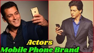 10 Bollywood Actors and Their Mobile Phone Brands in 2019