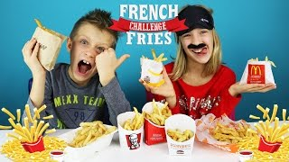 FRENCH FRIES Challenge / RonaldOMG / GamerGirl