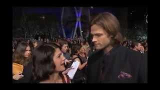 Jared and Genevieve Padalecki - 2013 PCA Red Carpet