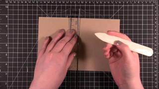 Card Making and Paper Crafting How To! Scoring Card Stock