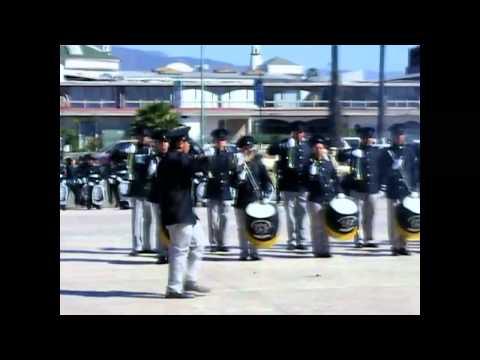 Primer Concurso de Bandas de Guerra en Ensenada