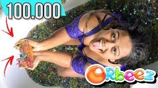 100.000 ORBEEZ / BOLINHAS DE GEL NA BANHEIRA