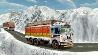 INDIAN MOUNTAIN HEAVY CARGO TRUCK GAME #Free Lorry Driving Games Download #Trucks Games For Kids