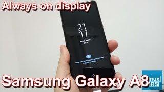 Samsung Galaxy A8 - Always On Display (configurando)
