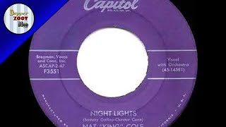 1956 HITS ARCHIVE  Night Lights   Nat King Cole