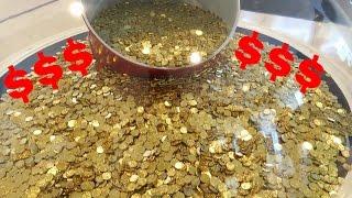$24,999 in 1 Dollar Coins