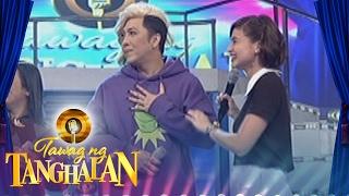 Tawag ng Tanghalan: Jhong gongs Anne and Vice