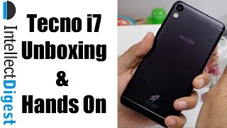 Tecno i7 India Unboxing, Camera Test, Features, Spec, Price and Details | Intellect Digest