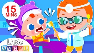 I Want to be a Dentist | Jobs & Occupations Songs for Kids I Nursery Rhymes by Little Angel
