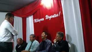 igreja uma nova Unção em ANTA (pregação tema a cura do leproso)