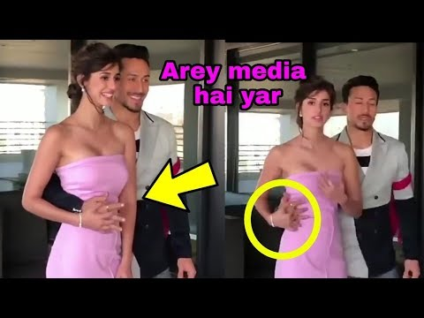 Xxx Mp4 Oops Baaghi 2 Actress Disha Patani Trying To Stop Romantic Bf Tiger Shroff In Front Of Media 3gp Sex