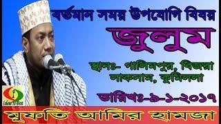 New Waz 2017   Mufti Amir Hamza   new waz 2017 amir hamza galimpur   Islam is best