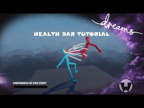 Dreams PS4 Tutorial Health Bar