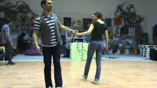 BluesWay 2012 Lindy Hop Int Class 2 Denis & Zhenya