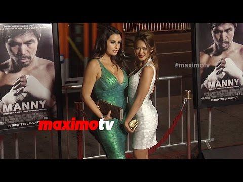 Abigail Ratchford & Michelle Ly Vu MANNY LA Premiere Red Carpet