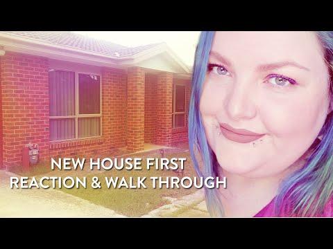 New house reaction walk through!