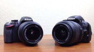 Nikon D3200 vs D3100