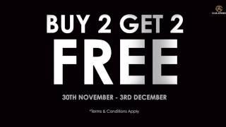 INGLOT's BUY 2 GET 2 FREE offer starts TODAY!