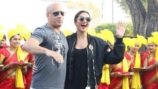 Deepika Padukone And Vin Diesel GRAND Welcome At Mumbai International Airport