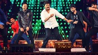 actor chiranjeevi Dance Performance 2016 | cinemaa awards Function 2016 | Telugu Stage Show