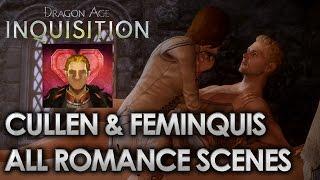 Dragon Age Inquisition - Cullen Romance [All Scenes]