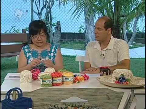 Ateliê na Tv 03 01 12 Cristina Luriko Almofada