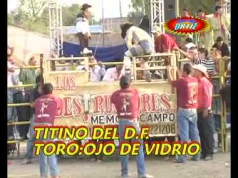 2009 Los Destructores en la Luz Texas Gto Jaripeo y Bronca