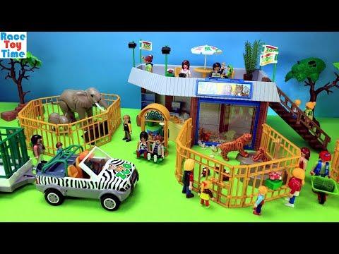 Playmobil Animals Zoo Building Playset Fun Animal Toys For Kids