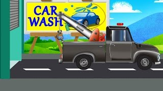 Tow Truck | Car Wash | Videos for Kids and childrens