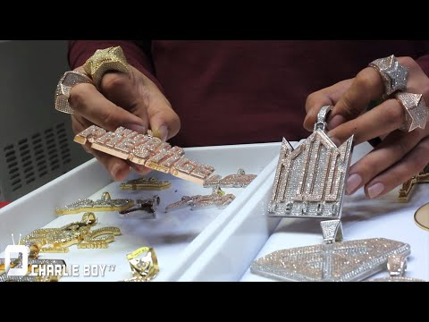 Franky Diamonds Shows Us HOW 2 CREATE A CUSTOM Piece From Drawing to Wax to Casting & How its PRICED
