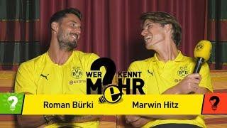 Roman Bürki vs. Marwin Hitz | Who knows more? - The BVB-Duel