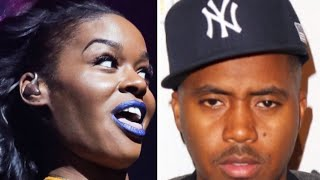 Azeila Banks DESTROYS Nas Claiming NO ONE Should Buy A WOMAN BEATER