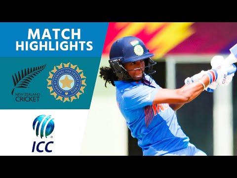 Xxx Mp4 New Zealand V India ICC Women 39 S World T20 2018 Highlights 3gp Sex