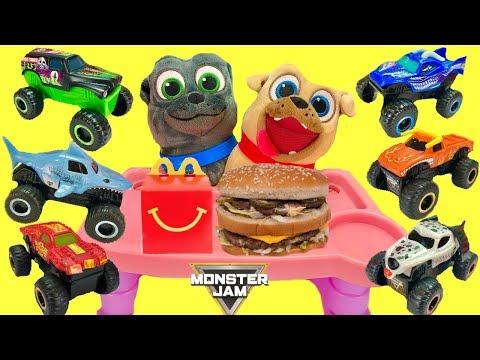 Puppy Dog Pals Get Monster Jam McDonald s Happy Meal Trucks 2019
