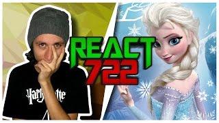 React 722 Elsa vs Jack Frost [ft. Isis Vasconcelos e Tauz] (7Minutoz)