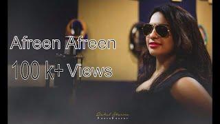 AFREEN AFREEN , COKE STUDIO (Cover) | RAHAT FATEH ALI KHAN | PRATIBHA T JOSE | ALBIN S JOSEPH - AsJ