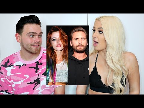 i tried to fuck Scott Disick. now Bella Thorne hates me. live footage lmao?