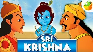 Sri Krishna | Full Movie (HD) | Animated Movie | English Stories for Kids