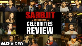 SARBJIT Movie Celebrities REVIEW | Randeep Hooda, Aishwarya Rai Bachchan, Richa Chadda | T-Series