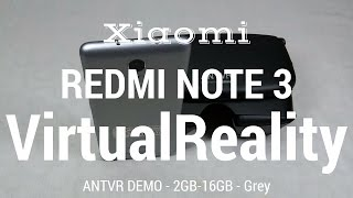 [Hindi - हिन्दी] Xiaomi Redmi Note 3 Virtual Realty Demo - ANTVR