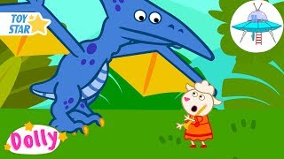 Dolly and friends New Cartoon For Kids   prehistoric dance   Season 1 Episode #150 Full HD