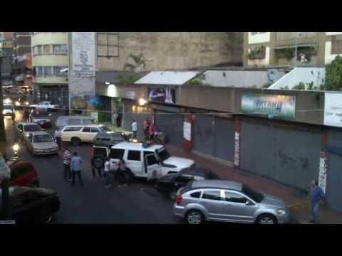 Arresto por el CICPC en La Candelaria Caracas. 03 Marzo 2014