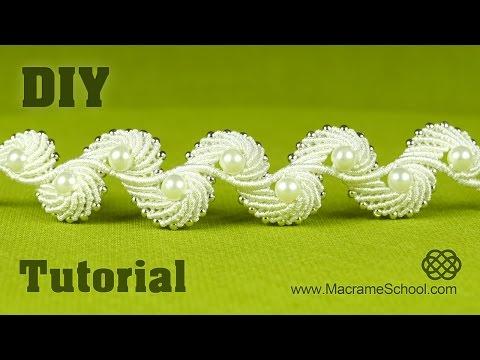 DIY Angel Wings & Macramé Shell Bracelet Tutorial